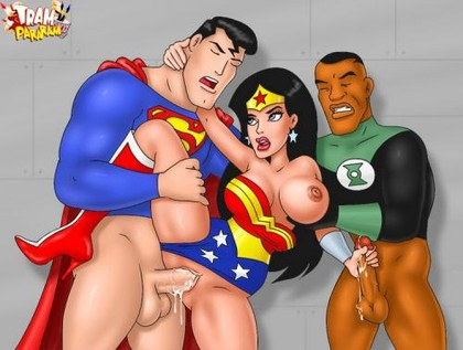 Justice league Cartoon Sex