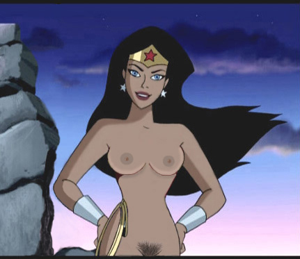 young wonder woman nude